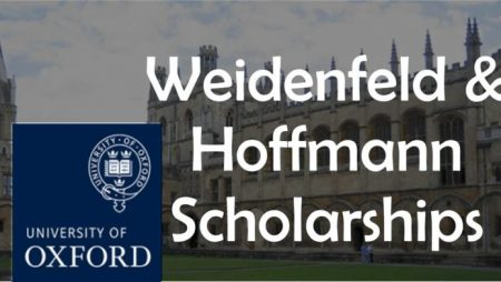 Oxford-Weidenfeld and Hoffmann Scholarships and Leadership Program 2019